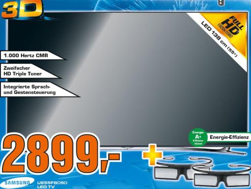 Samsung UE55F8090 ©Saturn