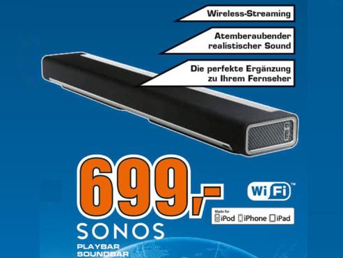 Sonos PLAYBAR ©Saturn