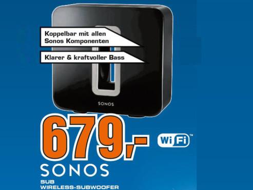 Sonos Sub ©Saturn