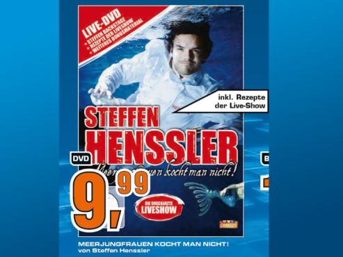 Steffen Henssler – Meerjungfrauen kocht man nicht, Live-Programm ©Saturn