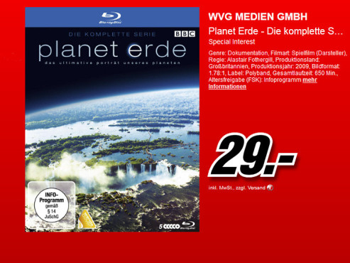 Blu-ray-Box © Media Markt