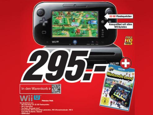 Nintendo Wii U Premium Pack ©Media Markt