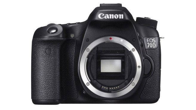 Digitale Spiegelreflexkamera: Canon EOS 70D © Amazon