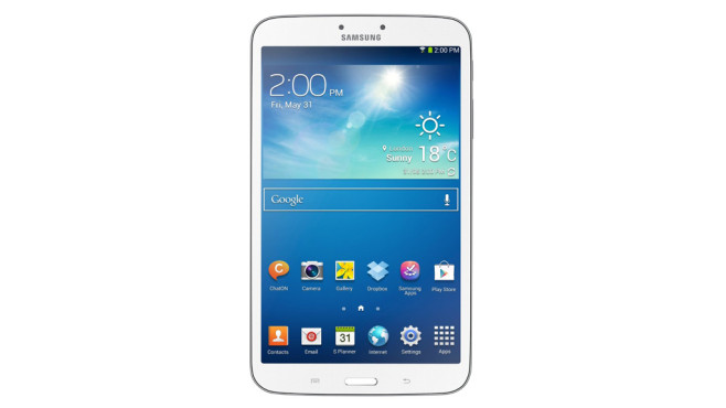 Tablet: Samsung Galaxy Tab 3 WiFi © Amazon