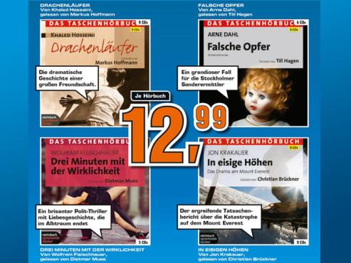 Hörbücher ©Saturn