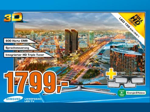 Samsung UE55F6640 ©Saturn