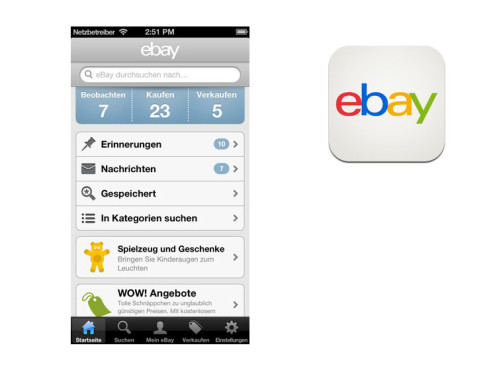 Ebay Mobile © Ebay Inc.