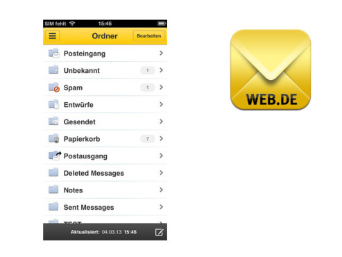 Web.de Mail © 1&1 Mail & Media GmbH