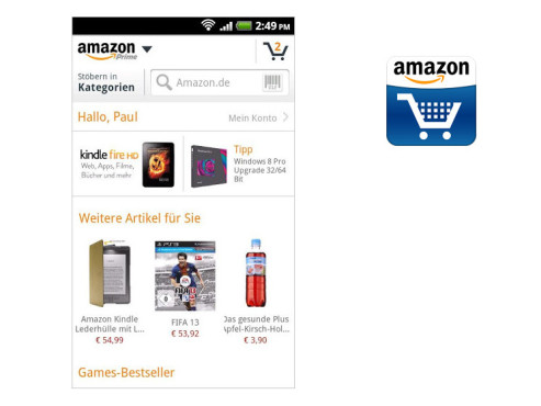 Amazon Mobil ©Amazon Eurasia Holdings Sarl