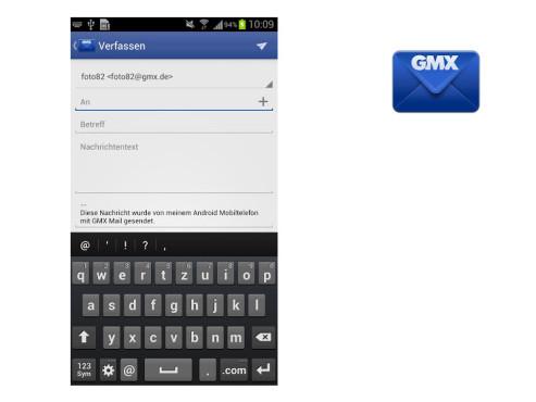 GMX Mail ©GMX GmbH