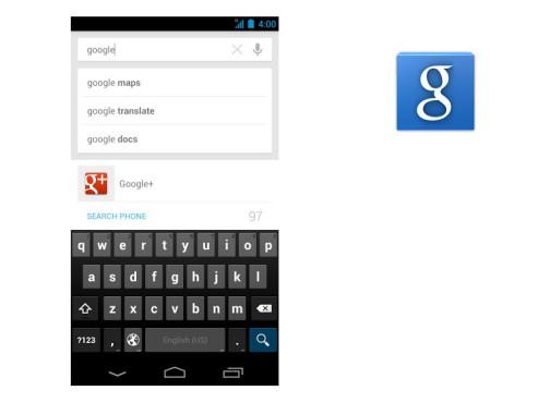 Google Search ©Google