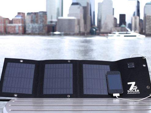 Folding USB Solar Cell - Solar-Ladgerät © Brown Dog Gadgets