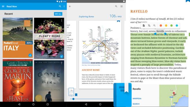 Google Play Books ©Google