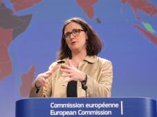 EU-Kommissarin Cecilia Malmström ©EU-Kommission