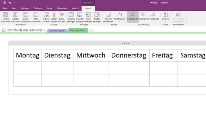 Microsoft OneNote Free: Einfälle notieren ©COMPUTER BILD