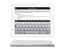 Rapoo E6300: Drahtlose Tastatur für Tablet-PCs ©COMPUTER BILD