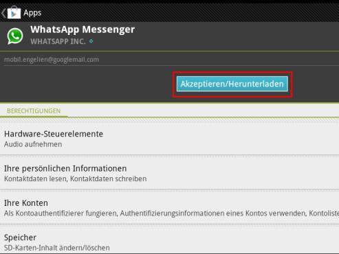 WhatsApp herunterladen ©COMPUTER BILD