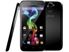 Archos: Drei neue Dual-SIM-Smartphones zum kleinen Preis Mit einer Bildschirmdiagonale von 5,3 Zoll ist das Archos 53 Platinum das größte Smartphone der Produktreihe. ©Archos