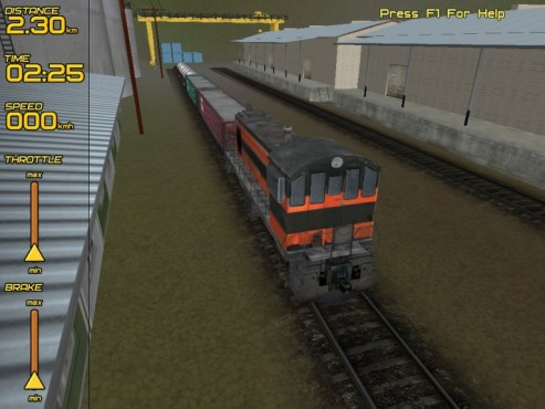 Freight Train Simulator © Gamehitzone