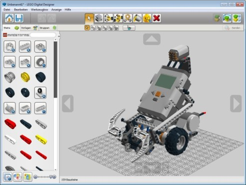 LEGO Digital Designer © The LEGO Group