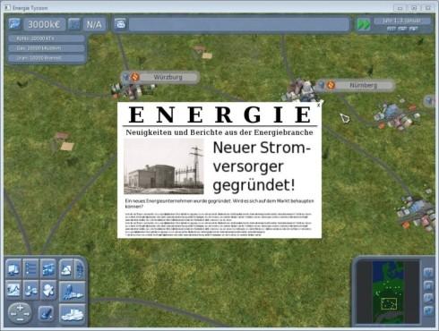 Simulation Energie Tycoon ©Michael Schießl