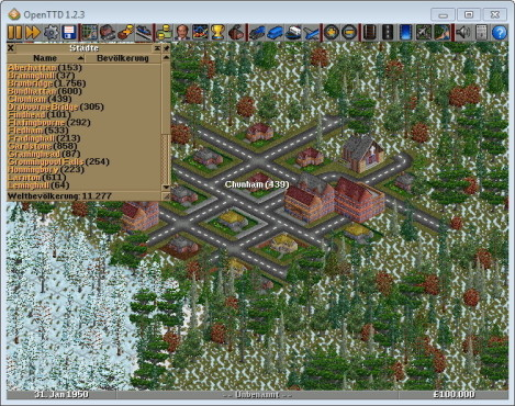 Simulation OpenTTD © Rare Ideas