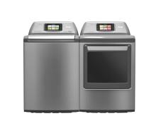 E-Home: LG arbeitet an wasserloser Waschmaschine mit WLAN Smart im Haushalt: Zukünftig können Nutzer LG-Waschmaschinen per Smartphone bedienen. ©LG