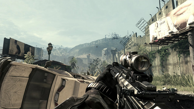 Actionspiel Call of Duty � Ghosts: Hollywood © Activision Blizzard