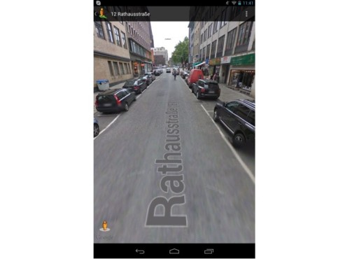 Screenshot Google-Maps-App für Android © COMPUTER BILD