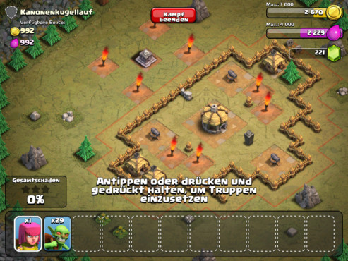 Clash of Clans: Angriff © Supercell