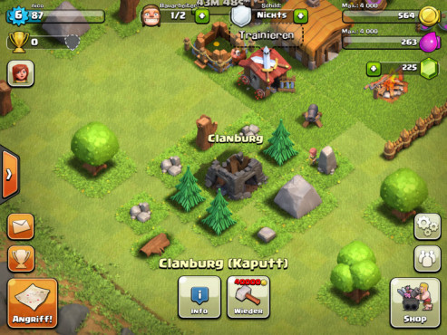 Clash of Clans: Clanburg © Supercell