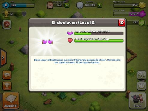 Clash of Clans: Elixierlager © Supercell
