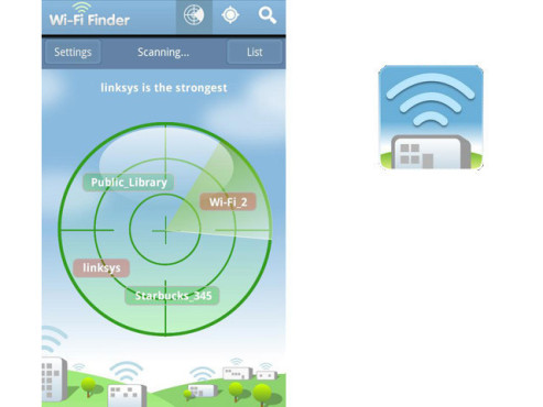 WiFi Finder © JiWire Inc