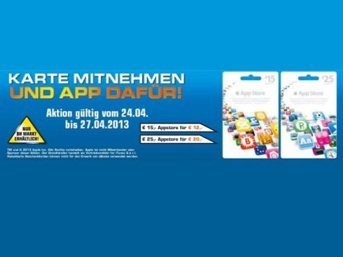 App-Store-Karten ©Saturn