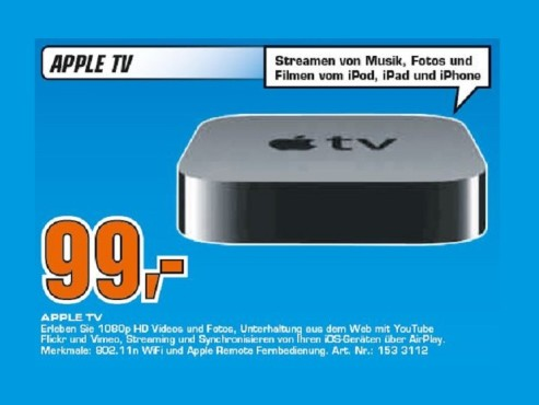 Apple TV MD199FD/A © Saturn
