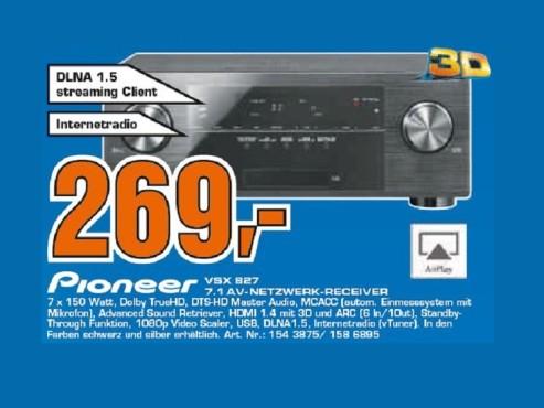 Pioneer VSX-827 ©Saturn
