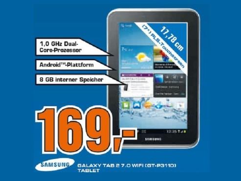 Samsung Galaxy Tab 2 (7.0) ©Saturn