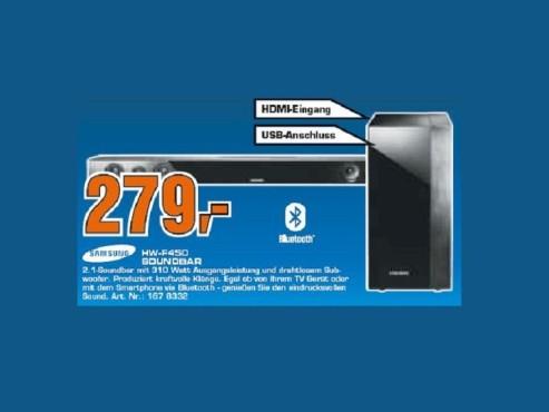 Samsung HW-F450 ©Saturn