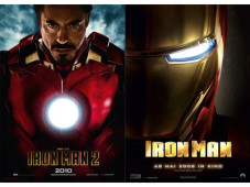 Iron Man 1 + 2 ©Watchever