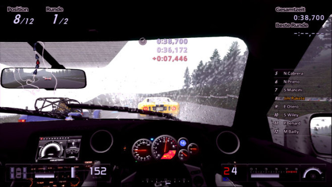 Gran Turismo 5: Regen ©Sony