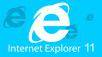 Logo des IE11 ©Microsoft
