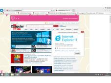 Microsoft Internet Explorer 11 – Vorabversion ©COMPUTER BILD