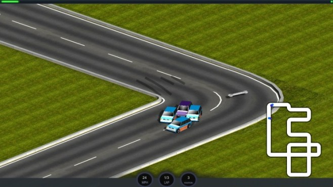 Micro Car Racing: Kurve © Aaro4130