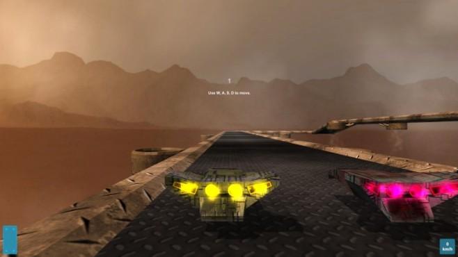 Racingo: Gleiter ©Frostweep Games