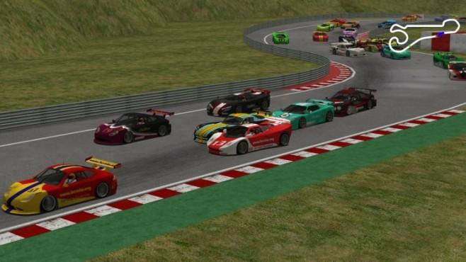 Rennspiel TORCS (The Open Racing Car Simulator) ©Eric Espi� und Christophe Guionneau