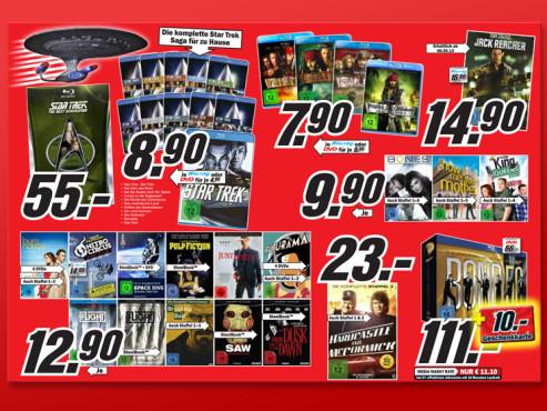 Filme auf Blu-ray und DVD ©Media Markt