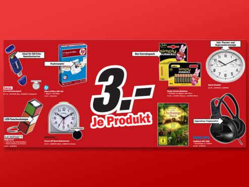 Kleinartikel für 3 Euro ©Media Markt