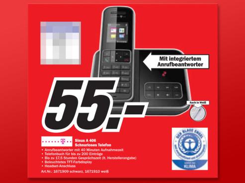 Telekom Sinus A406 ©Media Markt