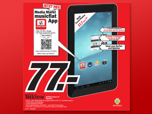 Trekstor SurfTab Breeze 7 © Media Markt
