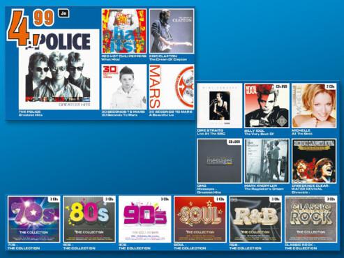 Diverse Musik-Alben ©Saturn